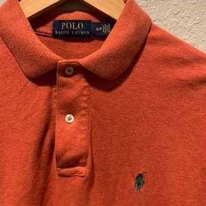 POLO By Ralph Lauren Burnt Orange Size Small